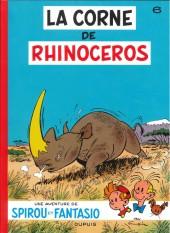 Spirou et Fantasio -6i14- La corne de rhinocéros