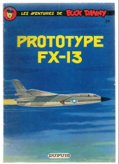 Buck Danny -24b78- Prototype fx-13