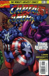 Captain America (1996) -12- Let it be