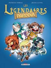 Les légendaires - Parodia -1- Héros en délire !