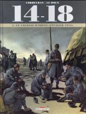 14-18 (Corbeyran/Le Roux) -5- Le colosse d'ébène (février 1916)