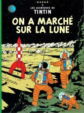 Tintin (Historique) -17c9- On a marché sur la lune