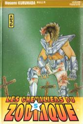 Les chevaliers du Zodiaque (Kana) -5a- Le Chevalier d'argent à la beauté meurtrière !