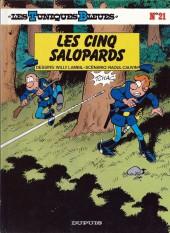 Les tuniques Bleues -21a1990- Les cinq salopards