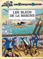 Les tuniques Bleues -7pub- Les bleus de la marine