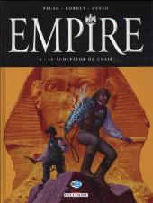 Empire (Pécau/Kordey) -4- Le Sculpteur de chair