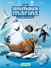 Les animaux marins en bande dessinée -4- Tome 4