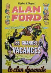 Alan Ford (Coffre à BD) -7- Les grandes vacances
