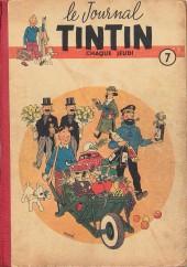 (Recueil) Tintin (Album du journal - Édition française) -7- Tintin Album du journal