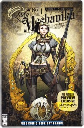 Free Comic Book Day 2016 (France) -'- Lady Mechanika / Hadrian's Wall