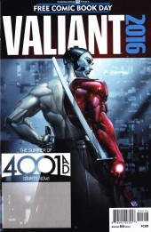 Free Comic Book Day 2016 - Valiant: 4001 A.D. FCBD Special
