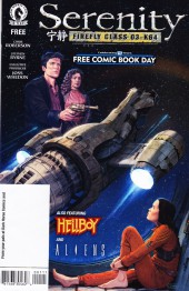 Free Comic Book Day 2016 - Serenity - Firefly Class 03-K64 / Hellboy / Aliens - Defiance