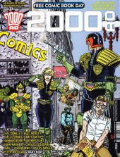 2000 AD (1977) -FCBD 2016- 2000 AD - Free Comic Book Day 2016