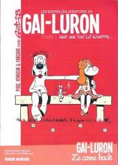 Gai-Luron (Les Nouvelles Aventures de) -1DP- Gai-luron sent que tout lui échappe...