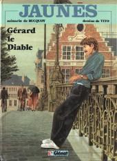 Jaunes -2a83- Gérard le diable