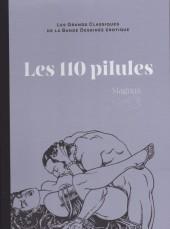 Les grands Classiques de la Bande Dessinée érotique - La Collection -511- Les 110 pilules