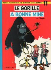 Spirou et Fantasio -11d86- Le gorille a bonne mine