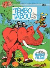 Spirou et Fantasio -24c87- Tembo tabou