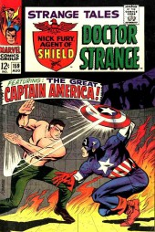 Strange Tales (Marvel - 1951) -159- Featuring: the great Captain America!