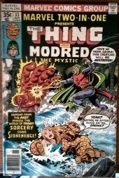 Marvel Two-In-One (1974) -33- The thing and Modred the mystic