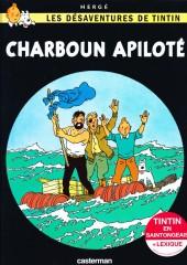 Tintin (en langues régionales) -19Saintongea- Charboun Apiloté