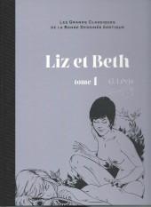 Les grands Classiques de la Bande Dessinée érotique - La Collection -612- Liz et Beth - Tome 1