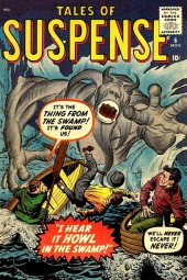 Tales of suspense Vol. 1 (Marvel comics - 1959) -6- I Hear It Howl in the Swamp!