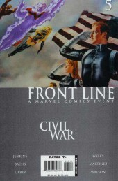 Civil War: Front Line (2006) -5- Embedded, Part 5 / The Accused, Part 5 / Sleeper Cell, Part 3