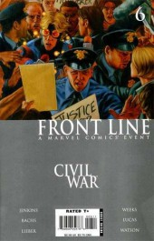 Civil War: Front Line (2006) -6- Embedded, Part 6 / The Accused, Part 6 / Sleeper Cell, Part 4