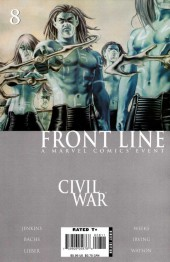 Civil War: Front Line (2006) -8- Embedded, Part 8 / The Accused, Part 8 / Sleeper Cell, Part 6
