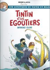 Tintin - Pastiches, parodies & pirates -ES- Tintin et les Égoutiers
