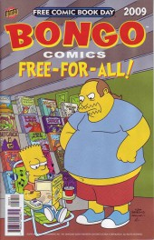 Bongo Comics Free-For-All! -2009FCBD- No Such Thing As A Free Comic; Hostile Makeover; Captain Cupcake And Pieboy!