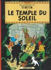 Tintin (Historique) -14D3- Le temple du soleil