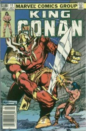 King Conan (1980) -11- The Haunter of the Cenotaph
