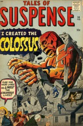 Tales of suspense Vol. 1 (Marvel comics - 1959) -14- I created the Colossus!