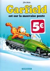 Garfield -25Ind2016- Garfield est sur la mauvaise pente