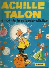 Achille Talon -10'- Le roi de la science-diction