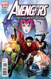 Avengers: The Children's Crusade (2010) -1- Avengers: The Children Crusade #1