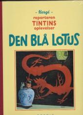 Tintin (en langues étrangères) -5danois- Le lotus Bleu
