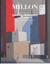 (Catalogues) Ventes aux enchères - Millon - Millon - Bandes Dessinées Collection de Monsieur R. - Dimanche 12 juin 2016 - Drouot - Paris