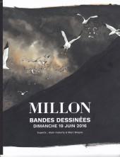 (Catalogues) Ventes aux enchères - Millon - Millon - Bandes Dessinées - Dimanche 19 Juin 2016