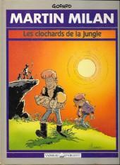 Martin Milan (2e Série) -2a91a- Les clochards de la jungle