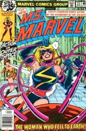 Ms. Marvel (1977) -23- The woman who fell to earth
