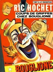 Ric Hochet -25b83- Coups de griffes chez Bouglione