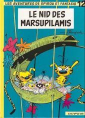 Spirou et Fantasio -12g00- Le nid des marsupilamis