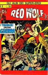 Albi dei Super-Eroi (Gli) -10- RED WOLF: I Tamburi dicono Guerra