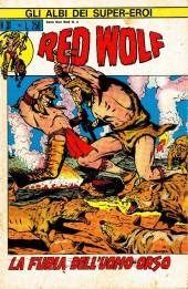 Albi dei Super-Eroi (Gli) -31- RED WOLF: La Furia dell'Uomo Orso