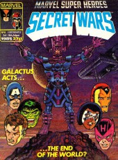 Marvel Super Heroes Secret Wars (Marvel UK - 1985) -8- Galactus acts...the end of the world?