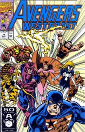 Avengers West Coast (1989) -74- The Pacific Overlords, Part Five: Operation Overlords