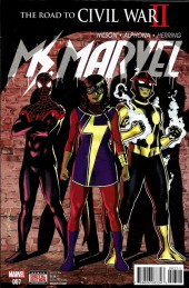 Ms. Marvel (2016) -7- The Road To War